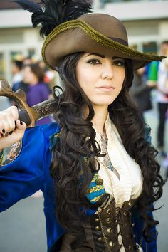 Saucy Pirate #Wondercon2013 #Cosplay