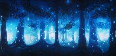 Dark Enchanted Forest Scenic Backdrop | TheatreWorld