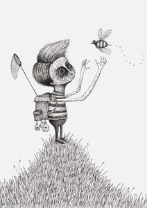 'Bug Collector' by Alex G. Griffiths.