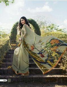 Sanskar Suhanepal Designer Print Saree