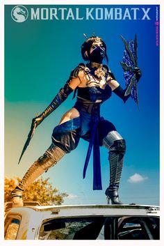 Kitana - Mortal Kombat X by JuTsukinoOfficial