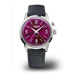 Love the gorgeous saturated burgundy dial