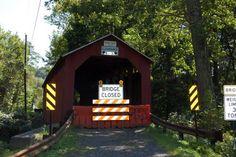 Крытые мосты Пенсильвании - мост Парс Милл (Parr's Mill)