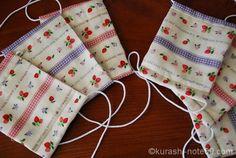 余り布でできるハンドメイドレシピ集|バザーに出せる小物たち | 【暮らしの音】kurashi-*note Diy And Crafts, Notes, Sewing, How To Make, Handmade, Couture, Report Cards, Dressmaking, Hand Made