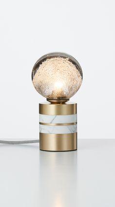 Fizi-Table-Lamp-Short-Brass-White - Articolo