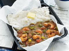South Carolina Shrimp Gravy and Grits from Grits and Groceries | The generous amount of seasoning leaves enough left over to use in other seafood recipes.