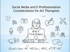 Art therapist and author of The Art Therapist's Guide to Social Media Gretchen M. Miller explores how art therapists can create a strong professional digital. Lost Season 1, Art Base, Social Media Site, Art Therapy, Consideration, Social Networks, Crafts To Make, Revolution, Music Videos
