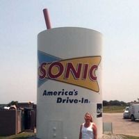 Choctaw, OK - Giant Sonic Drink Water Tank