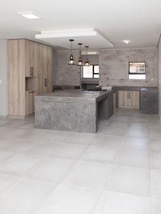 73 on Sleigh - Crontech Consulting Concrete Kitchen, Concrete Countertops, Building Contractors, Concrete Design, Rustic Industrial, Counter Tops, Interior Design Kitchen, West Coast, South Africa