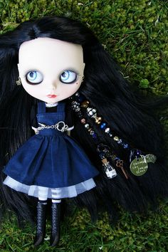 Through the Looking Glass Custom #197 ~ Pullrings and Charms by sglahe - Kaleidoscope Kustoms, via Flickr