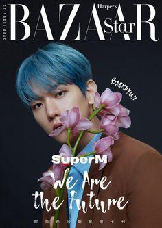 200228 时尚芭莎 (Harper's Bazaar China) Official on Weibo. Baekhyun & Kai for Harper's BAZAAR China on 2020 February. Taemin, Shinee, E Magazine, Magazine Covers, Chanbaek, Girl Day, Harpers Bazaar, Lucca, Vixx
