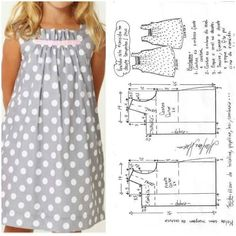 - The Effective Pictures We Offer You About diy home decor A quality picture can tell you many thing - Toddler Dress Patterns, Baby Clothes Patterns, Dress Sewing Patterns, Clothing Patterns, Overall Kind, How To Make Clothes, Making Clothes, Dad To Be Shirts, Little Girl Dresses