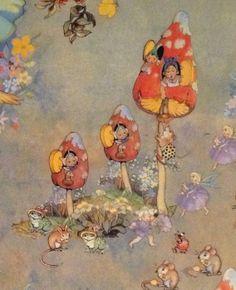 Peg Maltby Fairy Folk *~❤•❦•:*´`*:•❦•❤~*