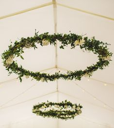 Hanging floral decor looks amazing in a wedding marquee due to the lofty roof space. Marquee Wedding Receptions, Tent Wedding, Diy Wedding, Wedding Ideas, Flower Bouquet Wedding, Floral Wedding, Wedding Colors, Hanging Flowers Wedding, Botanical Wedding Theme