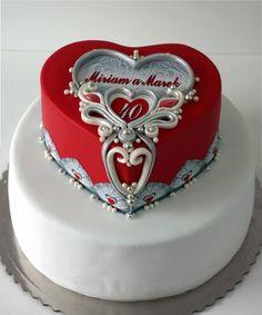 soutache cakes  - cake by mnamka_smizany