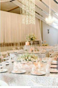 Peach, crystal and glitter wedding. Avanti Wedding Venue Zeerust. @louisevorsterphotography