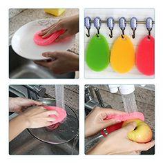 Silikonfuge Küche | Silikon Auflaufform Waschen Schwamm Scrubber Lebensmittelkontakt