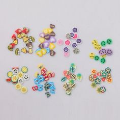 Mega Bundle Fimo Slices 8 Wheels for Nail Art/Craft . Starting at $10 on Tophatter.com!