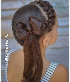 These hair styles will be fairly simple and are great for starters, fast and simple young one hairstyles. Lil Girl Hairstyles, Back To School Hairstyles, Braided Hairstyles, Wedding Hairstyles, Cool Hairstyles, Ponytail Styles, Short Hair Styles, Girl Hair Dos, Toddler Hair