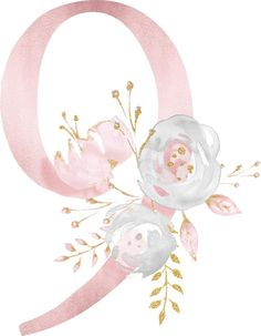 Елена Щербакова Watercolor Lettering, Floral Watercolor, Diy And Crafts, Arts And Crafts, Alphabet And Numbers, Baby Art, Stickers, Flower Frame, Iphone Wallpaper