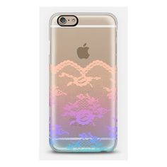 iPhone 6 Plus/6/5/5s/5c Case - Colorful Dreams Romantic Lace... ($40) ❤ liked on Polyvore featuring accessories, tech accessories, phone, cases, colorful and iphone