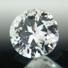 Gemstone: Untreated Montana Sapphire - Carat: 0.75 - Comment: Near colorless sapphire from icy Montana   http://wildfishgems.com/inc/sdetail/15451