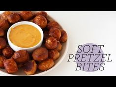 Soft Pretzel Bites | Homemade Recipe