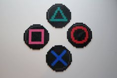 Easy Perler Bead Patterns, Fuse Bead Patterns, Diy Perler Beads, Perler Bead Art, Pearler Beads, Fuse Beads, Beading Patterns, Hama Perler, Pixel Art