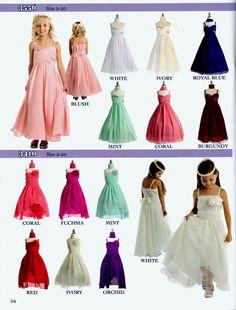 Lovely long dresses for that upcoming Wedding