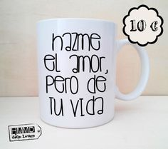 Love messages in mugs, perfect for Saint Valentine. Love Gifts, Diy Gifts, Ideas Aniversario, Little Presents, Diy Mugs, Love Days, Love Messages, Be My Valentine, Mug Designs