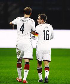 Benedikt Hoewedes & Philipp Lahm
