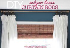 28 Genius DIY Curtains Ideas