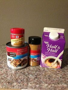 Pumpkin Spice Coffee Creamer - BEST EVERY!!! and Easy!!
