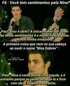 Paul melhor pessoa!
