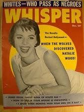 Natalie on the cover of Whisper #magazinecovers