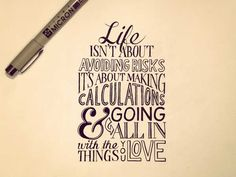 Typography: 20 Beautiful Yet Inspiring Hand Lettering Quotes - Jayce-o-Yesta