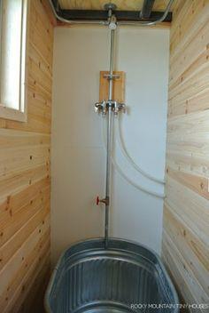 The shower unit