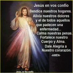 ORACIONES A LA DIVINA MISERICORDIA Spiritual Prayers, Prayers For Healing, Spiritual Messages, Mom Prayers, Morning Prayers, Prayer Verses, Prayer Quotes, Catholic Prayers In Spanish, Divine Mercy Image