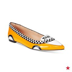 Calling all our girls on-the-go: These kate spade new york taxi flats will have you cruising around town without compromising style or comfort. Shop now at macys.com!