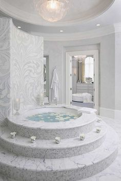 Master Bath - Habachy Designs - Interior Design by Habachy Designs, via Flickr