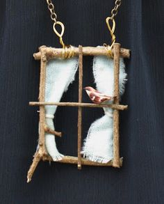 hearts and honey: DIY Window Necklace