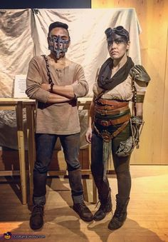 Mad Max & Imperator Furiosa - Halloween Costume Contest via @costume_works