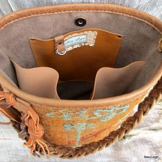 Carpet Bag from 19th Century Hand Woven Anatolian door stacyleigh