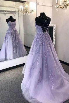 Light Purple Prom Dress Long, Evening Dress, Formal Dress VP36 by VestidosProm, $167.57 USD