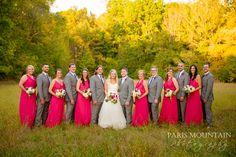 Spring Lake - Paris Mountain Photography - Pink - Flowers Wedding Group Photos, Spring Lake, Mountain Photography, Bridesmaid Dresses, Wedding Dresses, Pink Flowers, Family Photos, Paris, Fashion