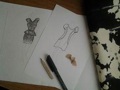 New project, black&white dress 2013, love it ♥♡♥