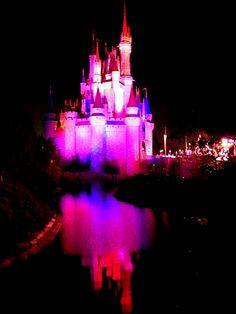 The Colors of Disney: Pretty in Cinderella Castle Pink