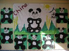 Pandaberen knutselen