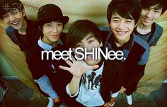 Awww I wish! I was introduced to SHINee about half way through last school year. I love them so much. Especially Onew and Taemin! xx (: