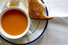 Grilled Cheese and Fresh Tomato Soup on Food52